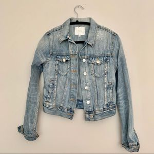 TALULA Jean Jacket size Small with Sparkle Accents